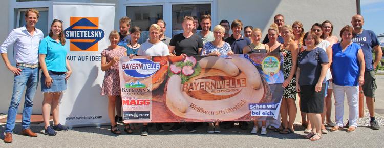 Bayernwelle Weißwurstfrühstück 27 Juli 2018 in Traunstein