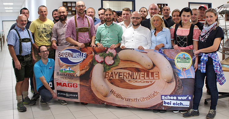Bayernwelle Weißwurstfrühstück 28 September 2018 in Eggstätt